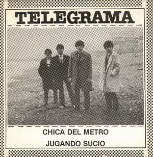 Telegrama - Chica del metro - portada single