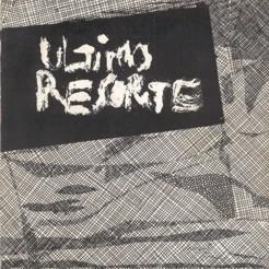 Ultimo resorte - EP - portada single Flor y Nata records